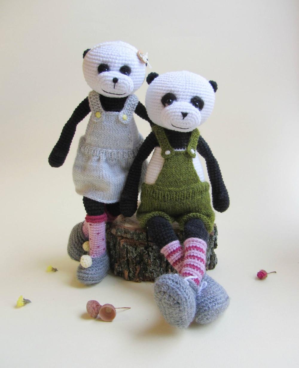 Crochet Toys  Amigurumi Doll  Panda   Model    Number XH0412063