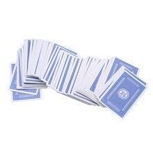 1 коробка из 144 Бумаги маджонг Китайские игральные карты набор для вечерние забавные Вечерние игры