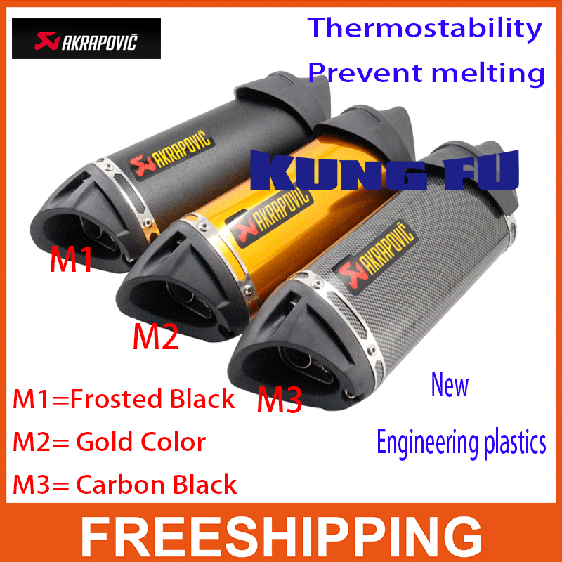 ФОТО Modified akrapovic Exhaust escape moto silencer 100cc 125cc 150cc gy6 scooter motorcycle cbr jog rsz dirt pit bike accessories