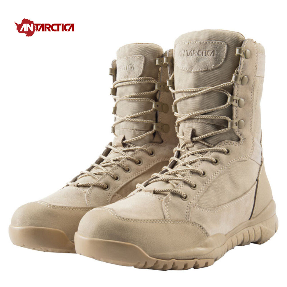 ANTARCTICA Trekking Shoes Men's Hiking Shoes Waterproof Hiking Boots Tactical Boots Outdoor Mountain Climbing Sports Sneakers