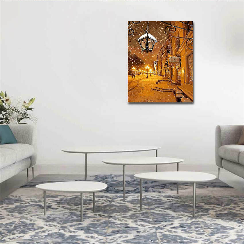 Wall Pictures For Living Room Drawing By Number Painting By Numbers Woman in Painting Calligraphy from Home Garden