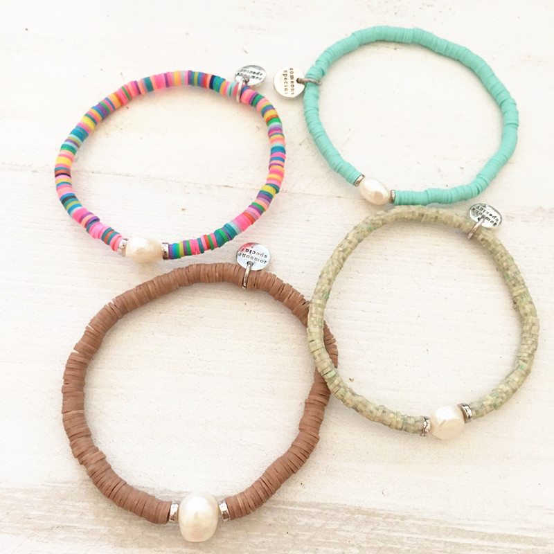 Dongmu jewellery new 2017 summer fashion Bohemian style silicone colorful bracelet ladies exquisite gifts