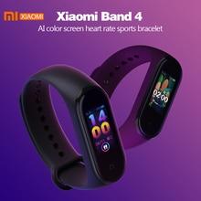 Xiao mi mi bant 4 akıllı bilezik 3 Bluetooth 5.0 bileklik spor izci AMOLED renkli dokunmatik ekran mi bant 4 spor smartband 4