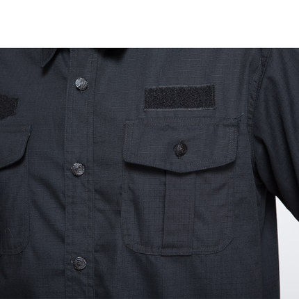 2018 new short sleeve mens security uniforms sets summer S 4XL plus size  black security companies clothing security set-in Military from Novelty    Special ... 4ee4ace41df0