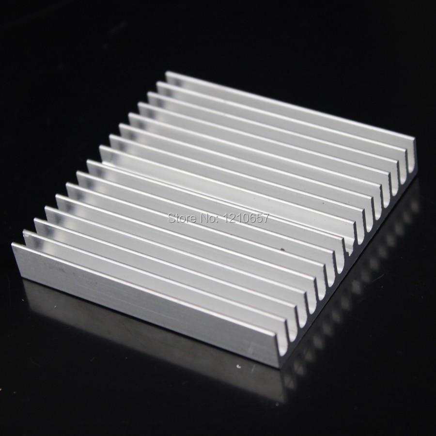 5pcs lot Gdstime 60x60x10mm Computer Radiator Cooling Cooler for CPU LED Heatsink Aluminum for asus u46e heatsink cooling fan cooler