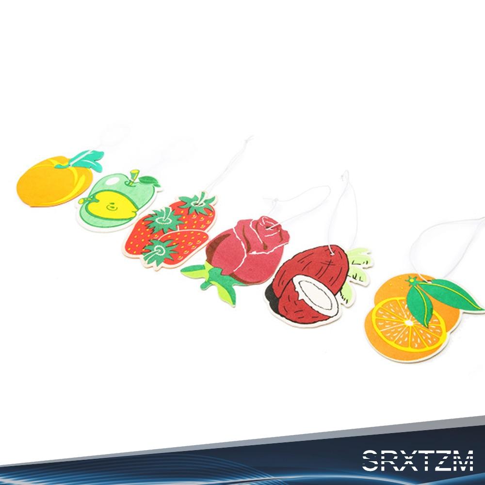3 шт. запах висит Бумага авто духи для дома лодка прочного аромат клубники лимонный аромат автомобиля Освежители воздуха духи