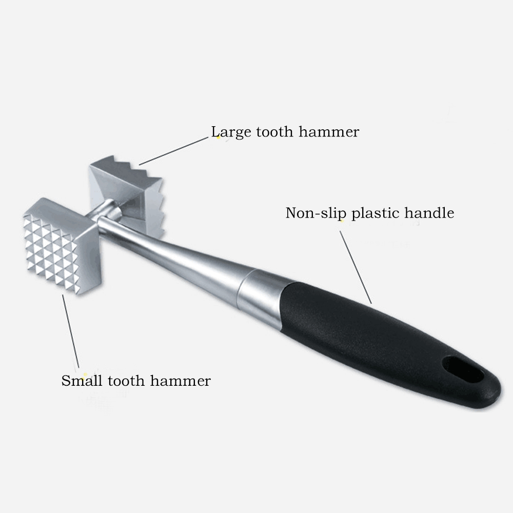 Tender Meat Hammer Stainless Steel Two Side Mallet Meat Beef Pork Chicken  Beaters Tenderizer Pounders Kitchen Gadget Tools In Meat Tenderizers U0026  Pounders ...