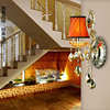 K9 Crystal Wall Sconce Led Lamp Home Modern Modern Style Bedside Wall Lamp Bedroom Stair Lamp