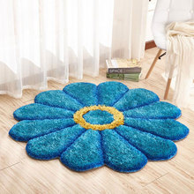 100cm Diameter Thicker 3D Stereo Sunflower 1200D Silk+bright Wire+non Woven  Anti