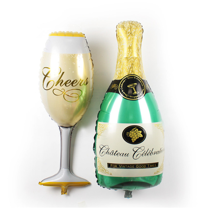 Online buy wholesale champagne balloons from china for Champagne balloon wall