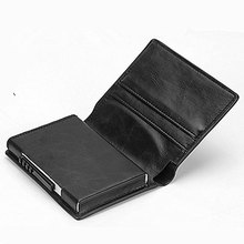 BISI GORO Credit Card Holder ID Men And Women Anti RFID Protection  Multi-function Wallet