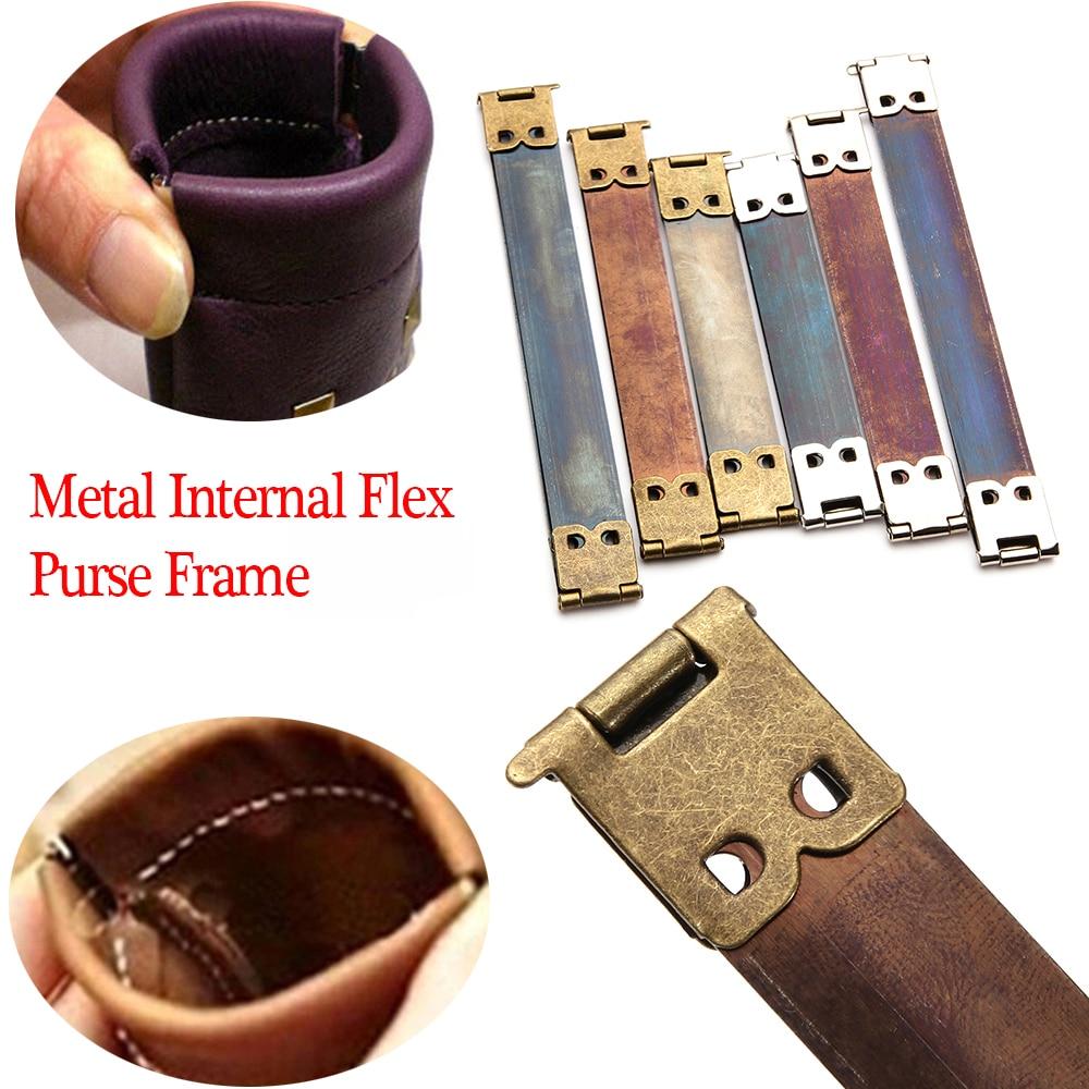 Apparel Sewing & Fabric Popular Brand 10pcs/lot Metal Internal Flex Purse Frame Lot Kiss Clasp Hidden Snap Diy Bag Accessories 8/10/12cm Sewing Supplies Modern Design