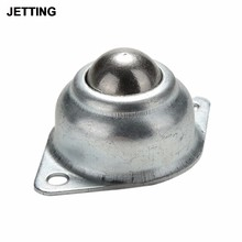 48*32*22mm 1 Pcs Swivel Round Ball Caster Silver Metal Bull Wheel Universal Transfer Ball Hole(China)
