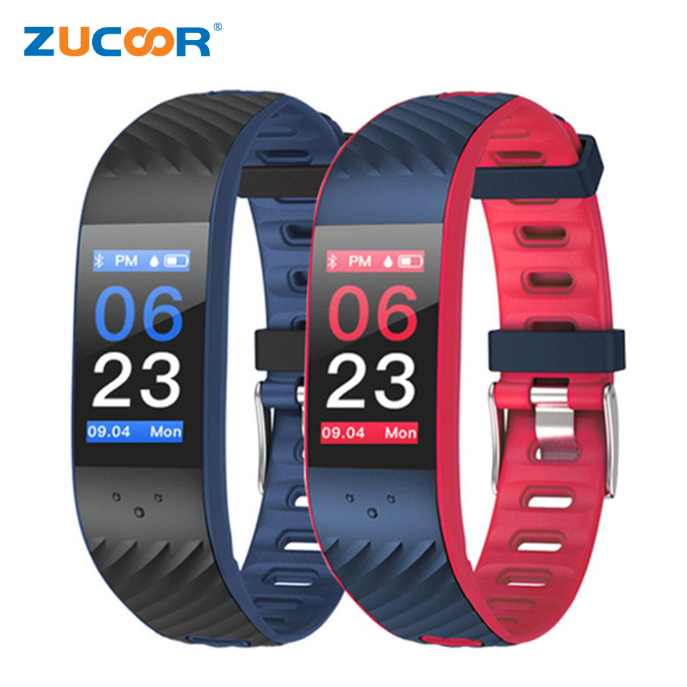 ZUCOOR Smart Bracelet Monitor Cardiaco Fitness Tracker Tonometer Pulse Wristband RB78 Electronics Wearable Device Pedometer Band smart band bracelet health wristband s3 pedometer blood pressure wearable devices pulse monitor electronics bracelets for men