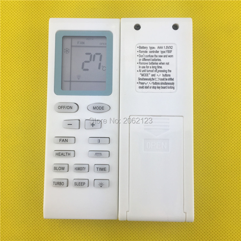 New For Gree Trane Electrolux York Air Conditioner Remote