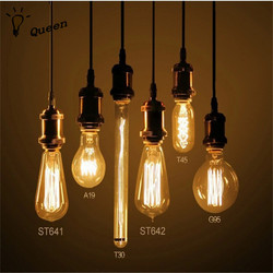 40w retro lamp edison bulb st64 vintage socket diy rope pendant 27 incandescent bulb 220v holiday.jpg 250x250
