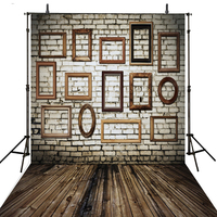 Wood Photography Backdrops Brick Wall Vinyl Backdrop For Photography Foto Children Background For Photo Studio Foto Achtergrond