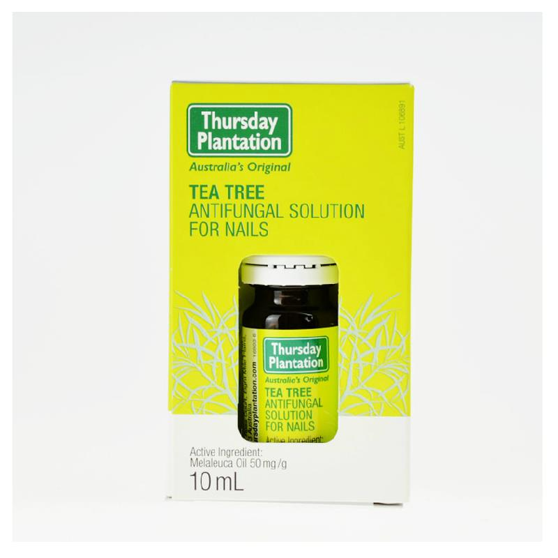 Thursday Plantation Tea Tree Anti-Fungal Nail Solution, controls fungal infections, relief of fungal infections of the nails 3box 60 sachets gout relief blood uric acid balance tea gout gout foot natural solution herbal tea