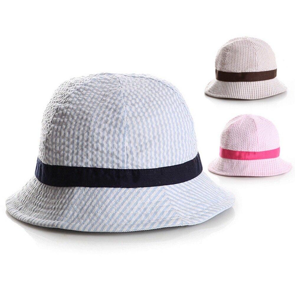 Hats & Caps Brim Adorable Accessories Sun Care Toddler Infant Sun Cap Summer Outdoor Baby Girl Beach Bucket Baby Visor Cotton Accessories