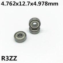 50 ชิ้น R3ZZ 4.762 * * * * * * * * 12.7 4.978 มิลลิเมตร 3/16x1/2x0.196 นิ้วลึก groove ball bearing Miniature สูง qualit R3Z
