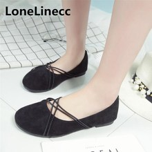 ФОТО Gladiator women flat shoes Pointed Toe sexy Ballerina Ballet Flats Loafers women shoes Flock black shoes woman Ladies shoes S035