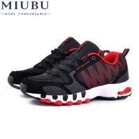 MIUBU Brand Men Shoes Breathable Mesh Mens Shoes Casual Zapatillas Deportivas Hombre