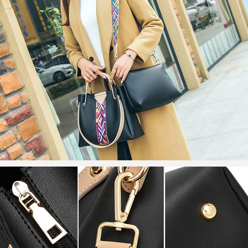 Gorden Yi De Vintage Colorful Strap Design Shou der Bag Women Summer Female Messenger bag High Quality Solid Ladies Flap Bags 2