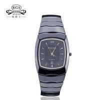Luxury Mens Womens Ceramics Watches Fashion Quartz Ladies Male Couple Clocks Square Waterproof Lady Man Wristwatches