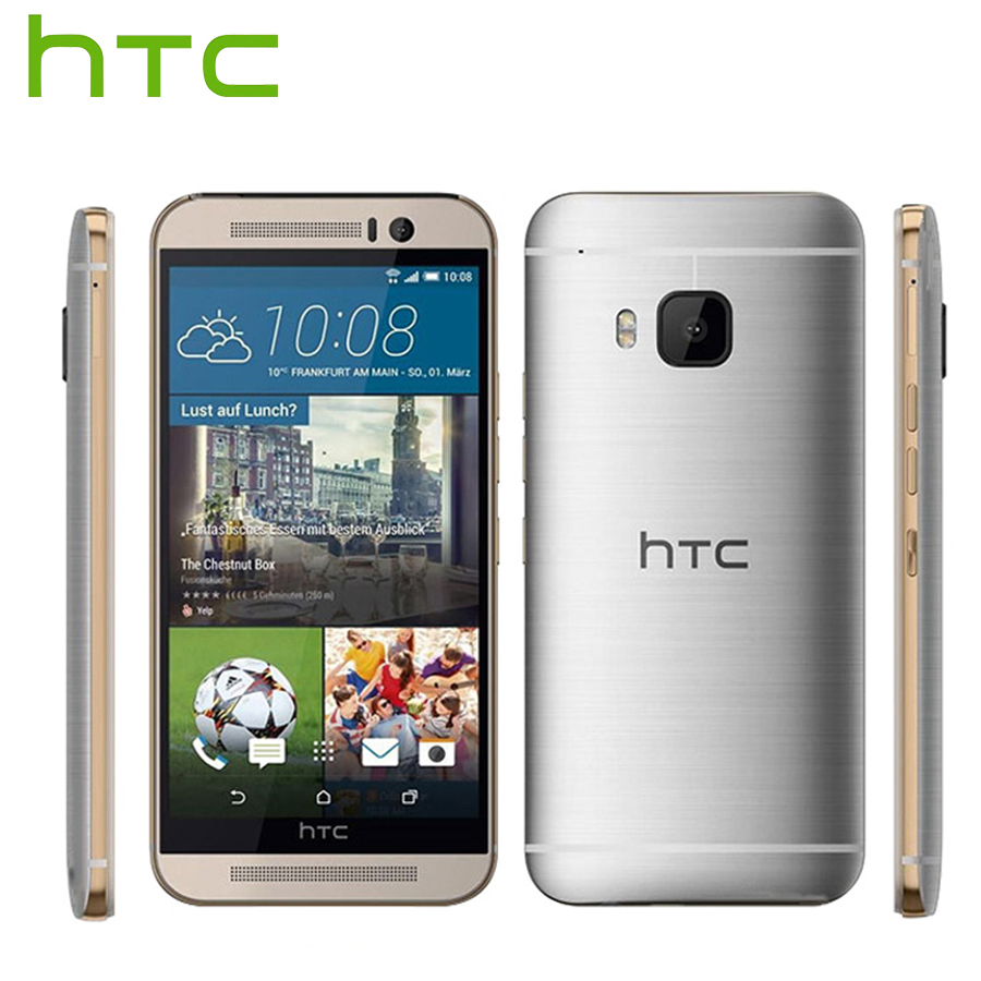 EU Version HTC One M9 4G LTE Mobile Phone Snapdragon810 OctaCore 20MP 3GB RAM 32GB ROM 5.01920x1080p Android Callphone 2840mAh
