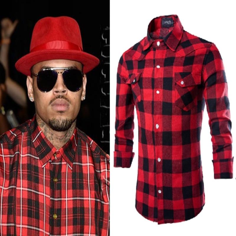 Online Get Cheap Black Plaid Shirt Men -Aliexpress.com   Alibaba Group