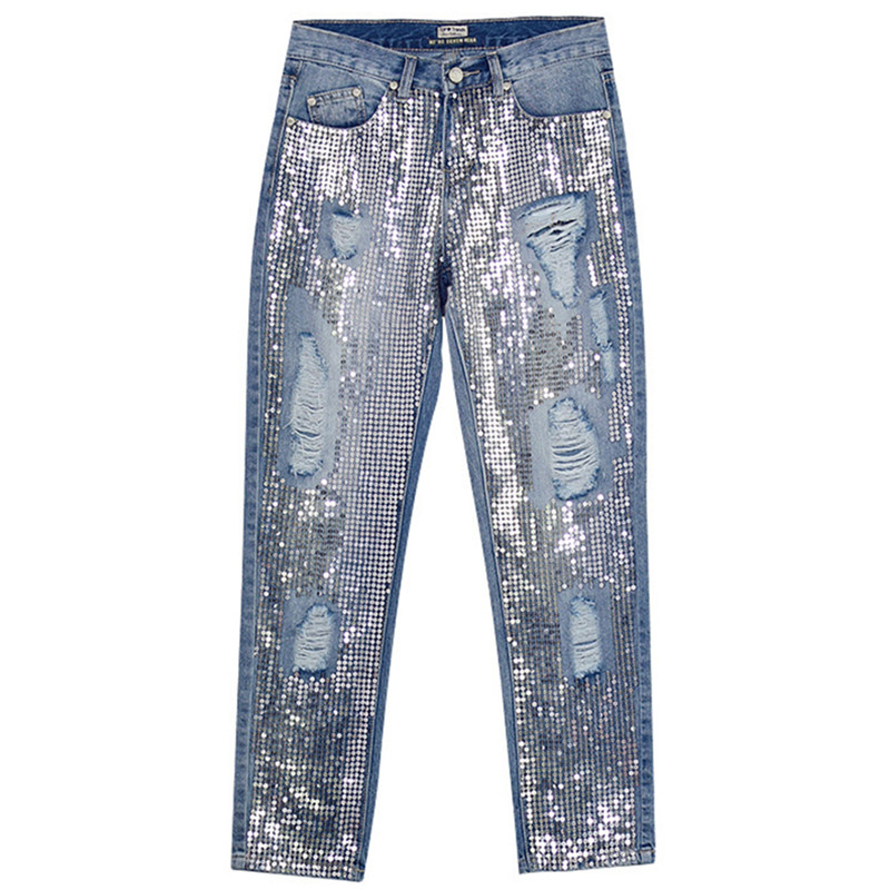 f34609b77a15d Buy jeans ripped for women and get free shipping on AliExpress.com