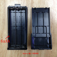 honghuismart battery case shell box 6 AA for baofeng bf uv5r,uv5re tonfa tf uv985,tyt th f8 etc walkie talkie two way radio