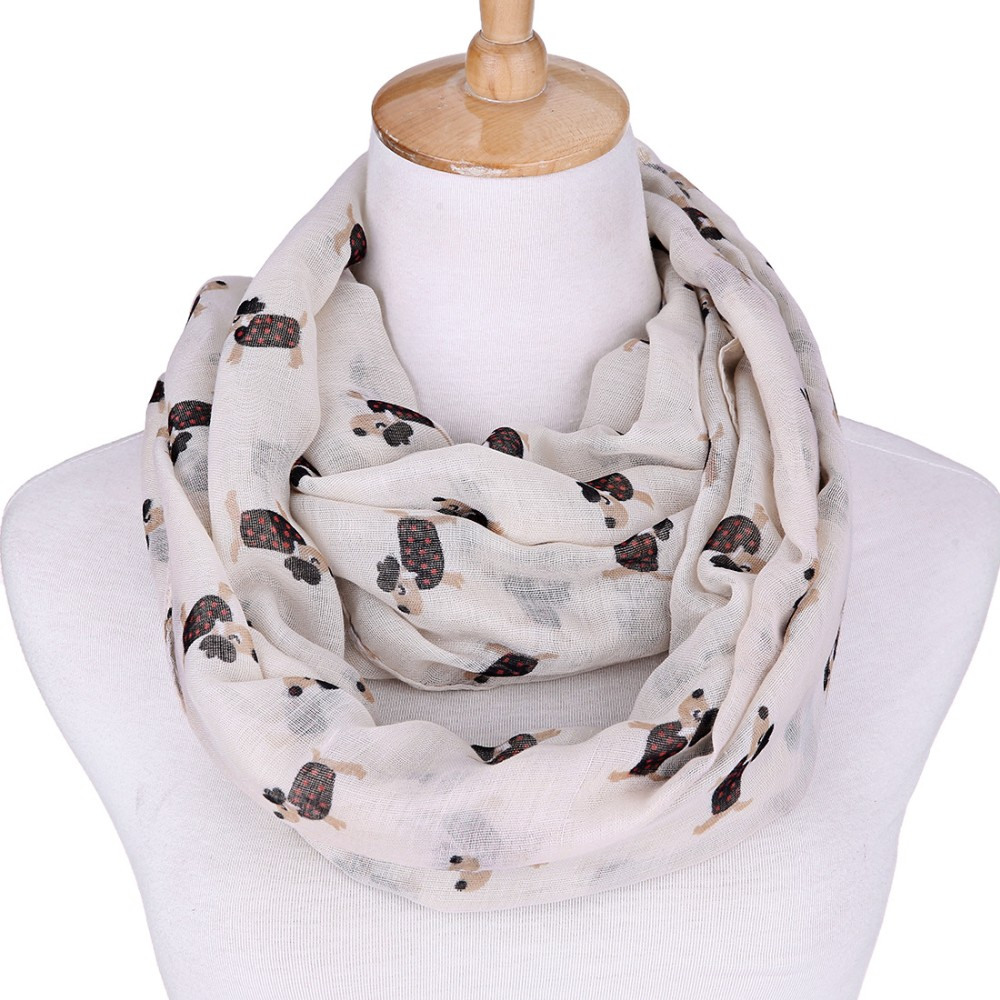 Tiny Dog Dot Scarves | Infinity Scarves