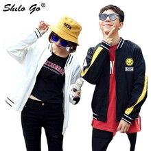 Lovers jacket Women Spring casual hiphop baseball tide brand men and women lovers coat clothing harajuku female
