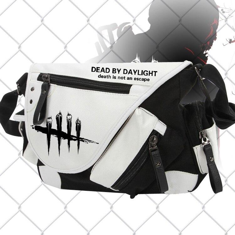 [Наличии] 2018 игры мертвых дневного света Холст Путешествия одно плечо сумка Косплей Prop 36*11 * см 26 см унисекс для Хэллоуина Бесплатная доставк...