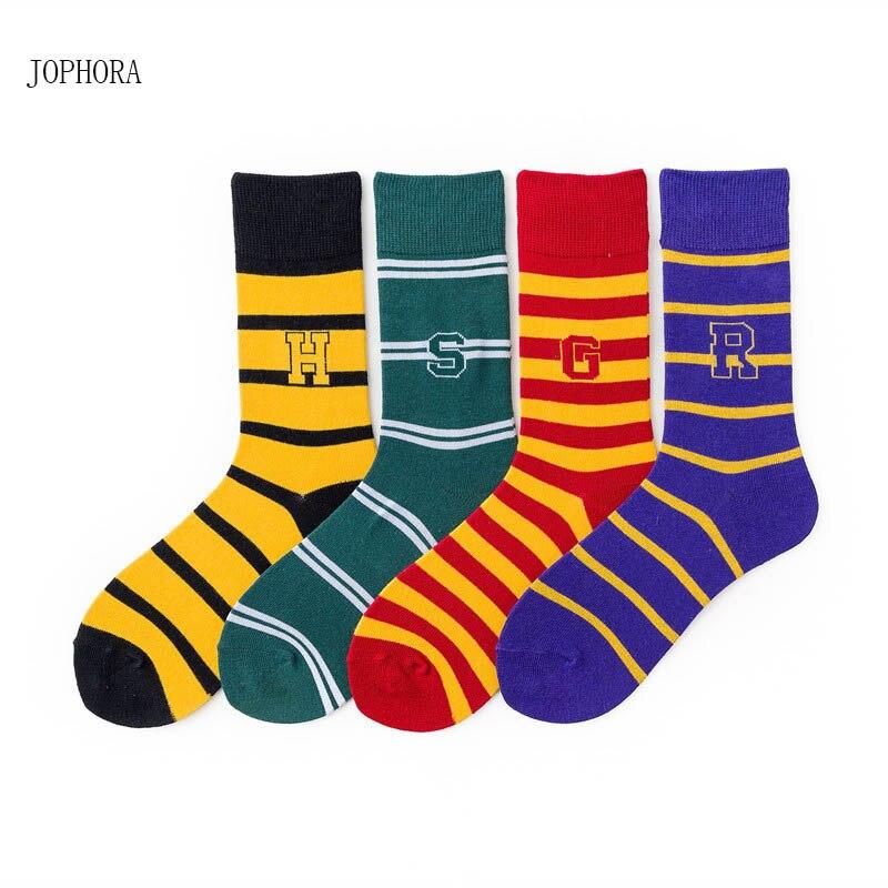 2019 Spring and summer new Korea Japanese striped   socks   in Harry Potter couple basketball cotton   socks