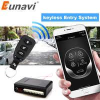 Système d'alarme de voiture universel Eunavi Kit Central à distance automatique serrure de porte système d'entrée sans clé verrouillage Central avec télécommande