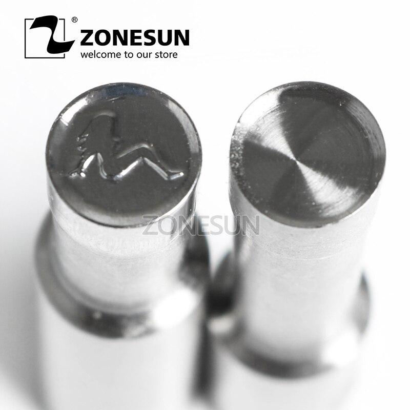 все цены на ZONESUN Girl Logo Customized Milk Tablet Slice Die Stamp Precision Punch Die Mold Sugar Tablet Press Tool Tdp 0/1.5/3 онлайн
