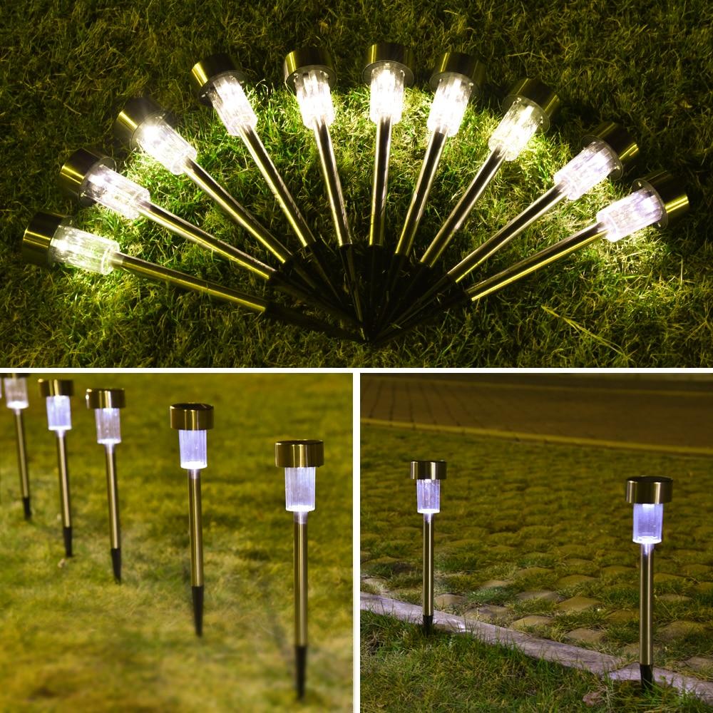 Solar Garden Lights Waterproof Outdoor Lawn Lamps Garden Yard Pathway Landscape Solar Lights Holiday Party Decoration (12)