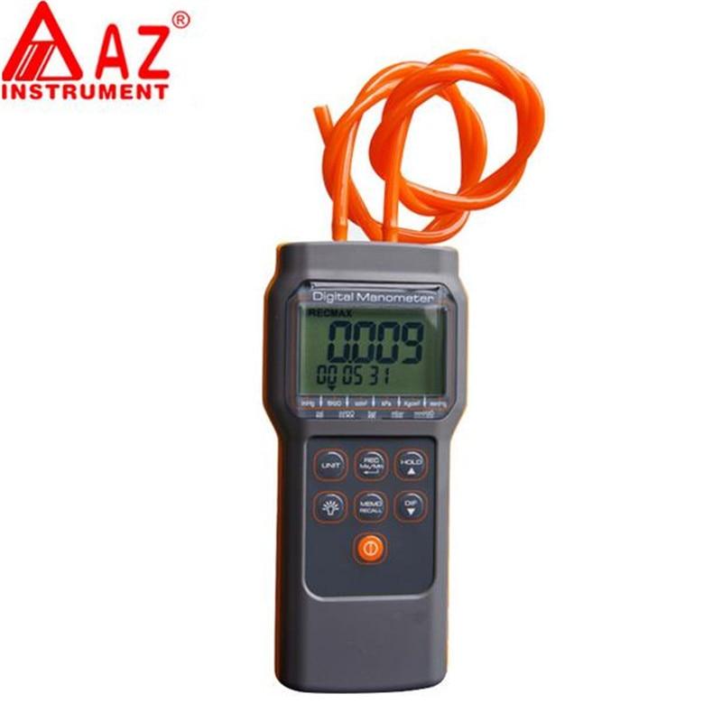Handheld Digital Differential Pressure Meter Gauge Manometer Range 103 42KPa 15PSI 11 Units Selection Memory 99