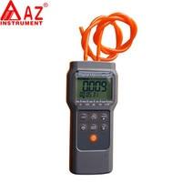 Handheld Digital Differential Pressure Meter Gauge Manometer Range 103.42KPa 15PSI 11 Units Selection Memory 99 Points AZ82152