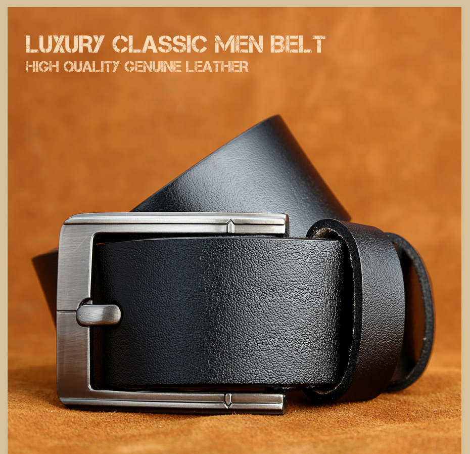 [Miluota] pasy designer mężczyźni wysokiej jakości prawdziwy skórzany pas dla mężczyzn luksusowe ceinture homme military style 130 cm mu012 16