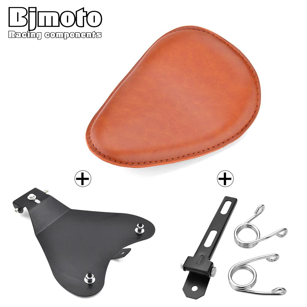 For Harley Honda Yamaha Kawasaki Suzuki Sportster Bobber Chopper Motorcycle Solo Seat Baseplate Bracket Base Spring