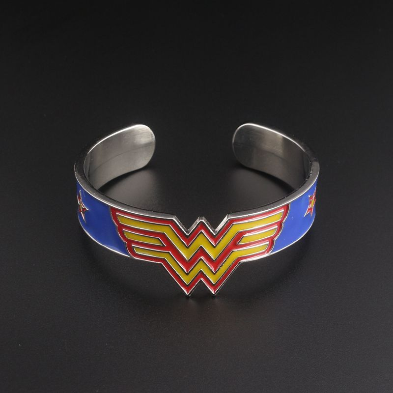 Independent Silicon Wristbands *** Wonder Woman *** Brand New Wristbands Colour Orange/yellow Jewelry & Watches