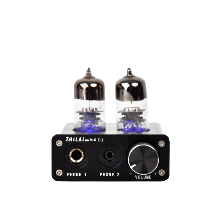 2704 7022 Chip USB DAC Preamp PC Sound Card Vacuum Tube Headphone Amplifier