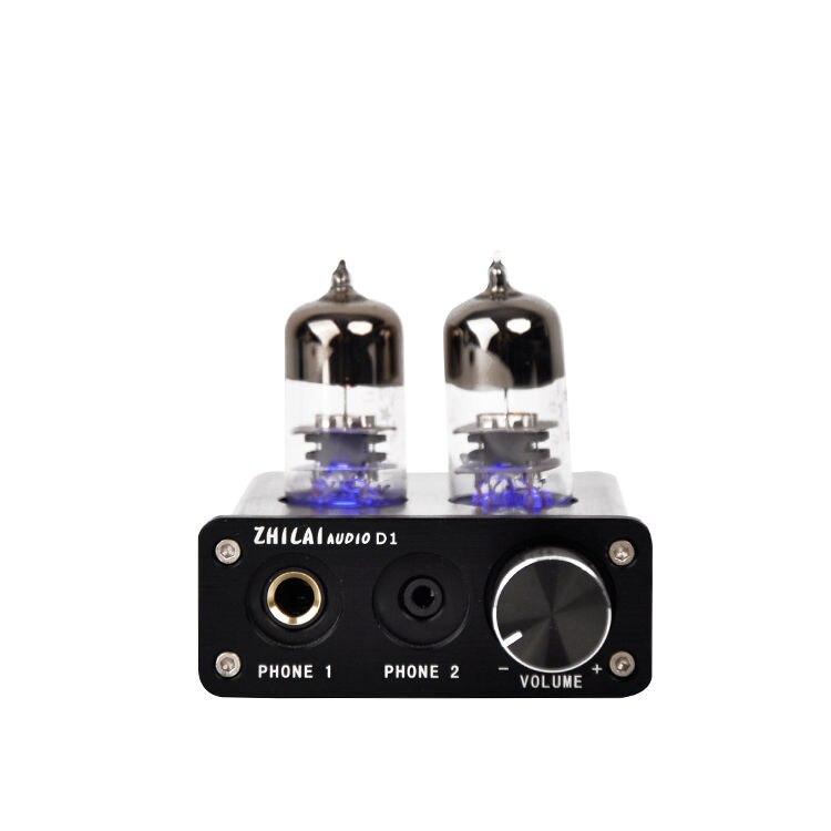 2704 / 7022 Chip USB DAC / Preamp PC Sound Card Vacuum Tube Headphone Amplifier