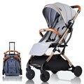 Cochecito de bebé avión ligero portátil viajar cochecito niños cochecito 4 regalos de 3 USD cupones