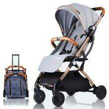 Lightweight Baby Stroller Plane Portable Pram Kid Buggy Chil