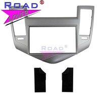 TOPNAVI 2 Din car Audio frame Panel Car Radio fascia for Chevrolet Cruze 2009 2011 Auto Air Condition Radio Installation Fascia