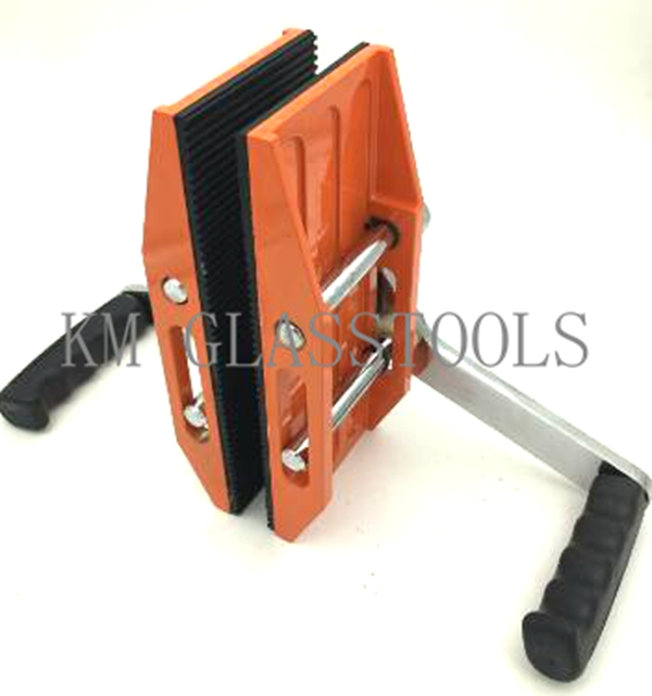 Free Shipping! Single Or Double Handed Carry Clamps,carry Glass Or Stone Slab Tools,stone Lifter,lifting Clamp.(China)